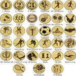 Emblemer til medaljer og pokaler